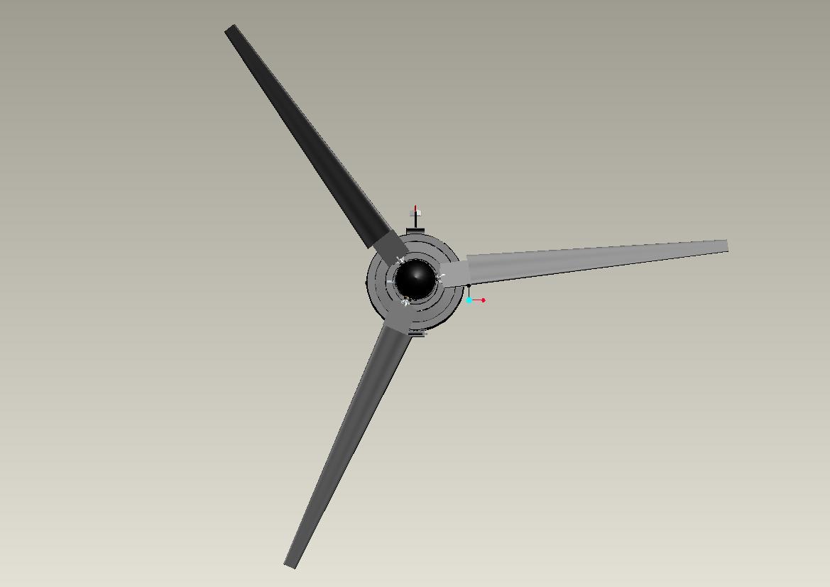 HevAir 6K Blades Fully Extended